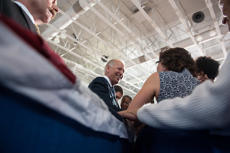 Joe Biden in Blacksburg — August 15th