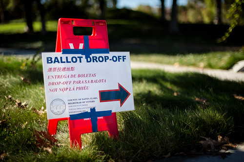 Ballot Drop Off - Mayfield | by hjl