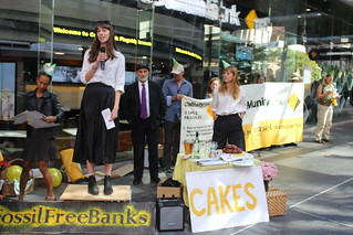 brisbane commbank action | by 350.org
