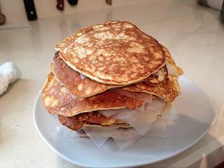 gluten-free pancakes | by EatLiveGrowPaleo.com