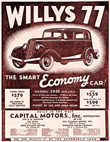 1935 Willys 77 4-Door Sedan | by aldenjewell