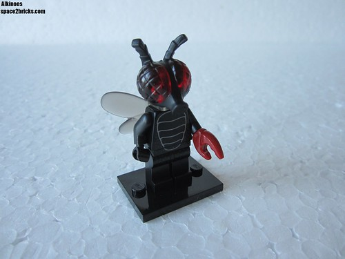 Lego Minifigures S14 homme mouche | by Alkinoos_38