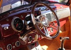 Ballston Spa Car Show: Beautiful Interior