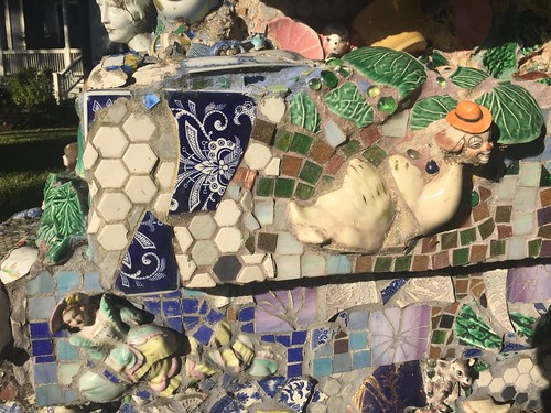 Mosaic Sculpture at the Joan Mitchell Center, Bayou Road | by Neeta Lind