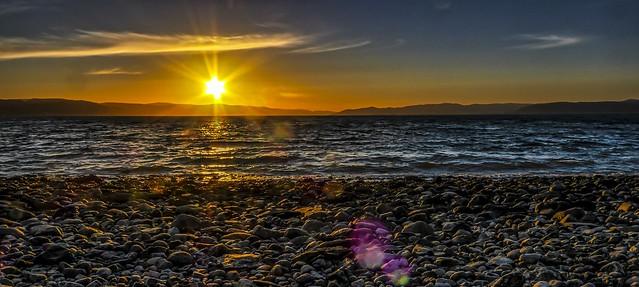 Solnedgang på Byneset