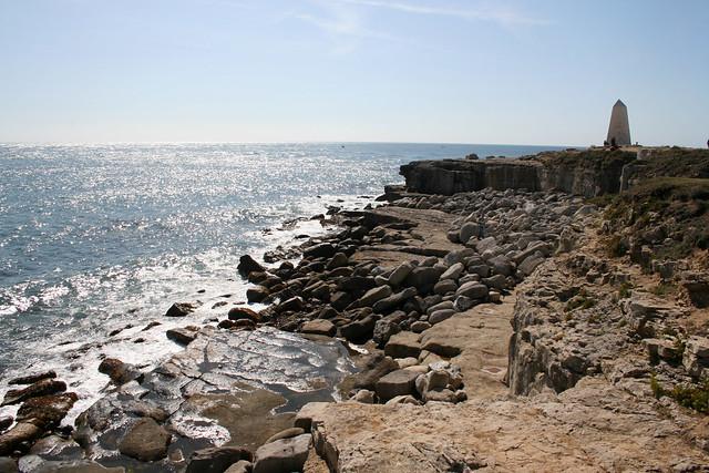 The coast at Portland Bill