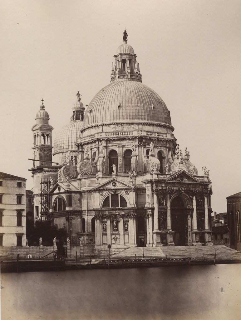 Carlo Ponti - Église de la Salute, Venice, ca 1870 | Flickr