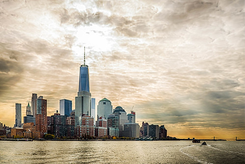 Lower Manhattan - Viewed From Hudson River | by jody.claborn