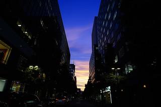 Sunset@Yurakuchou_Tokyo_02