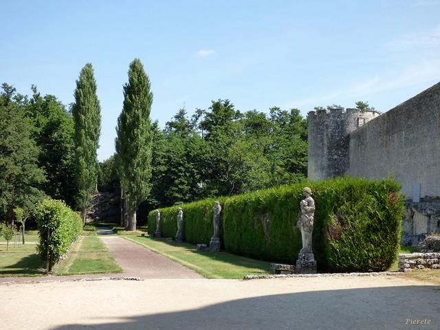 Jardin, Château de la Roche-Courbon