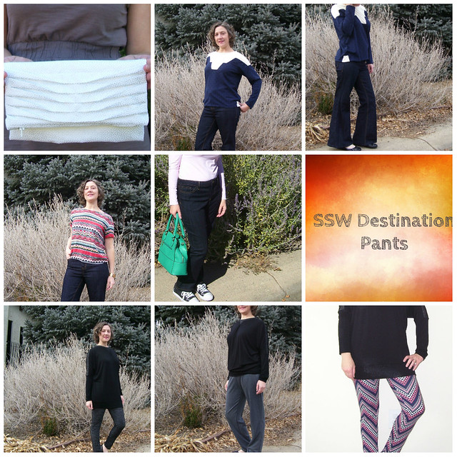 SSWD Pants complete collage