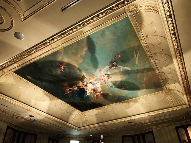 European-style Shiroi Koibito ceiling