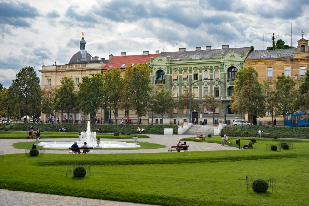 Zagreb Trg Kralja Tomislava Anelo De La Krotsche Flickr
