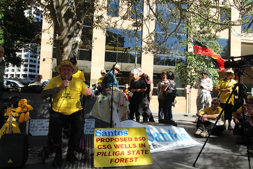 SANTOS - AGM Protest Sydney 4 May 2016 | by lockthegate