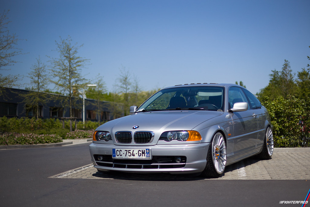 Bmw E46 Coupe Silver Jr 16 Wheels Laylow 2016 Canon Eos Flickr