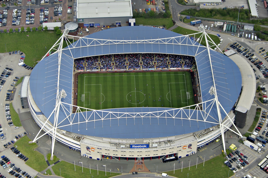 Reebok Stadium - Bolton v West Brom | fragglehunter blogspot