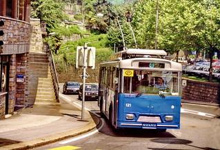 Lugano trolleybus 121, 1994