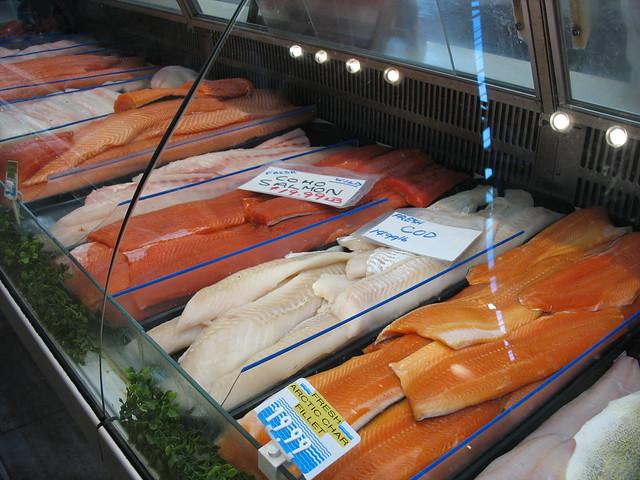 Fresh fish, St Lawrence Market