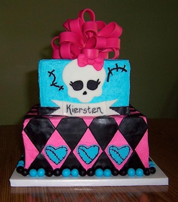Wondrous Monster High Birthday Cake Monster High Birthday Cake With Flickr Funny Birthday Cards Online Fluifree Goldxyz