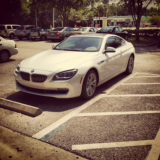 A Vision In White #automobile #car #tampa #bmw