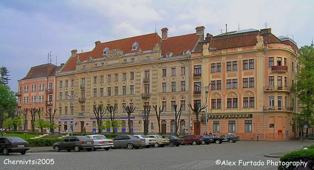 Chernivtsi buildings 1