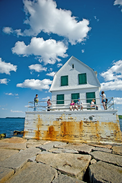Rockland Breakwater Lighthouse, Maine