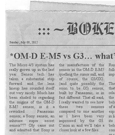 Bokeh Land's News