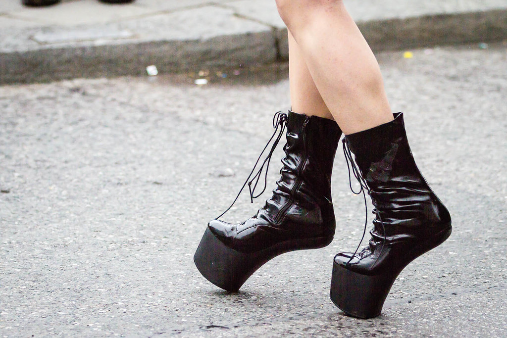 PVC Designer Boots
