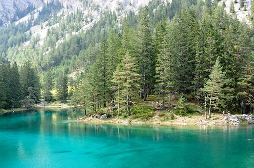 wood travel mountain lake mountains alps green forest austria see österreich nikon europe turquoise explore alpine tropical steiermark styria d90 grünersee tragöss