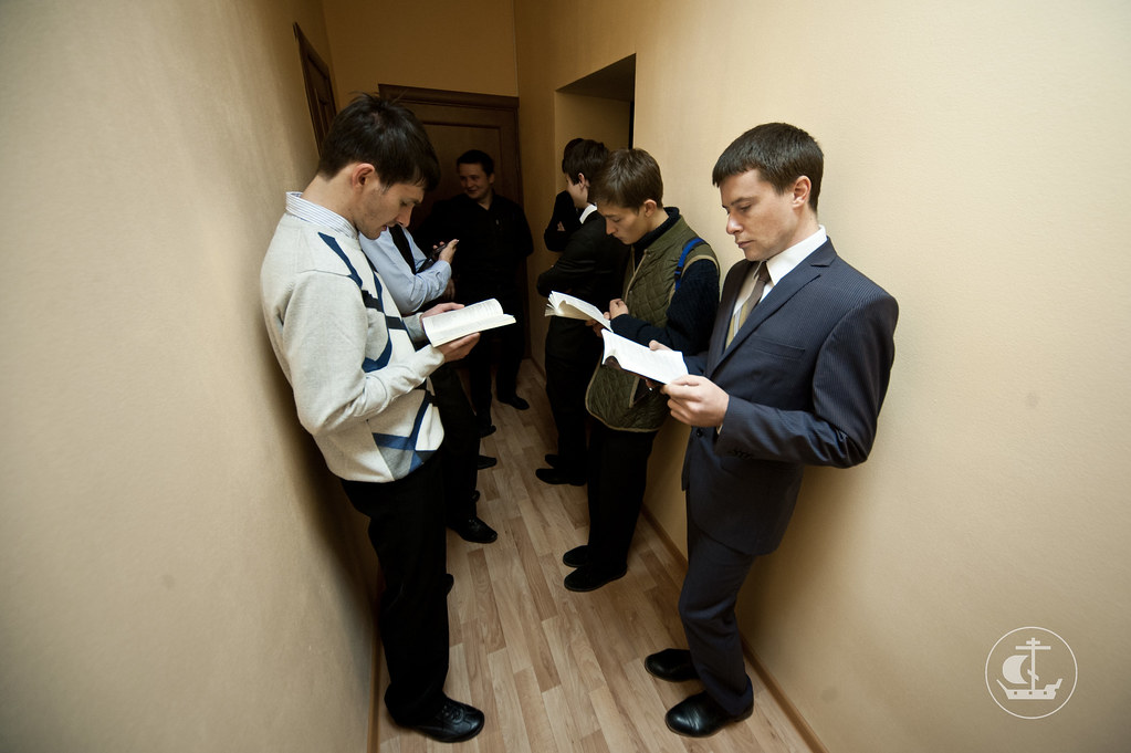 21 августа 2012, Завершение вступительных экзаменов на бакалавриат, регентское и иконописное отделение