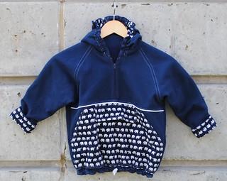 elephant hoodie front