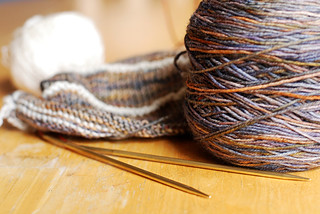 sock weight mystery shawl | by -leethal-