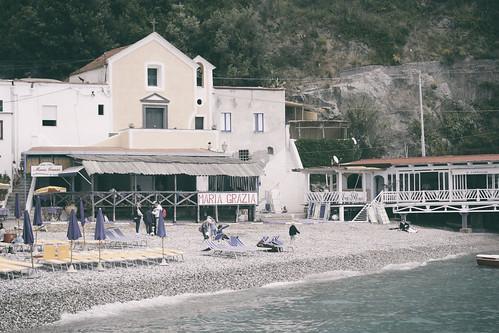 Nerano - Marina del Cantone negli anni 60