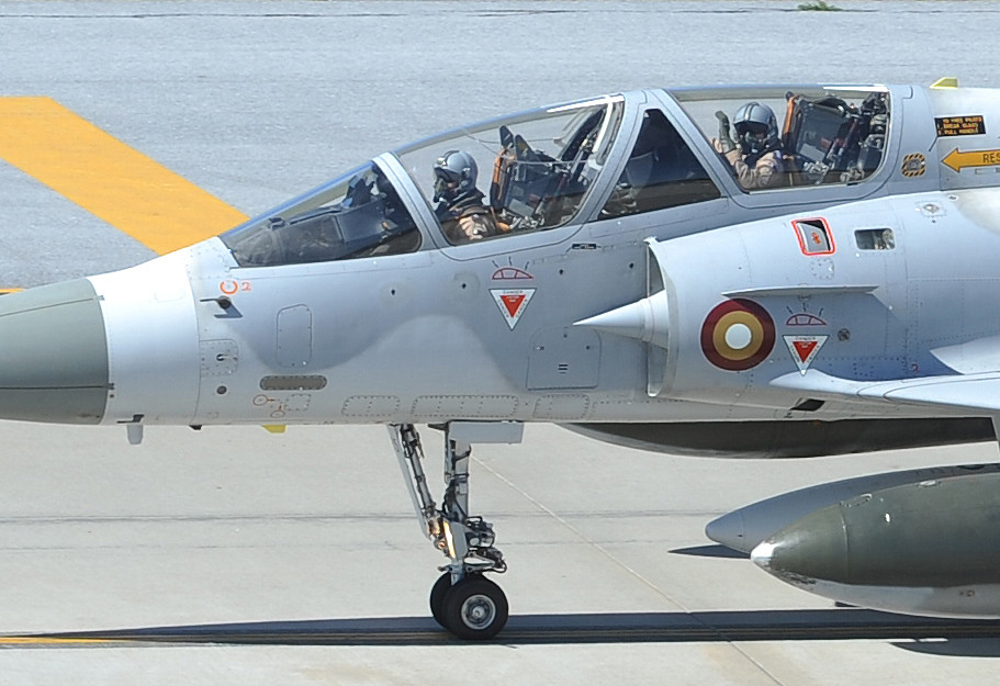 Qatar Emiri Air Force Mirage 2000-5 at Incirlik Air Base