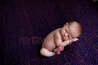 Newborn Post Processing SOOC, Fixing Red Feet | by Bitsy Baby Photography [Rita]