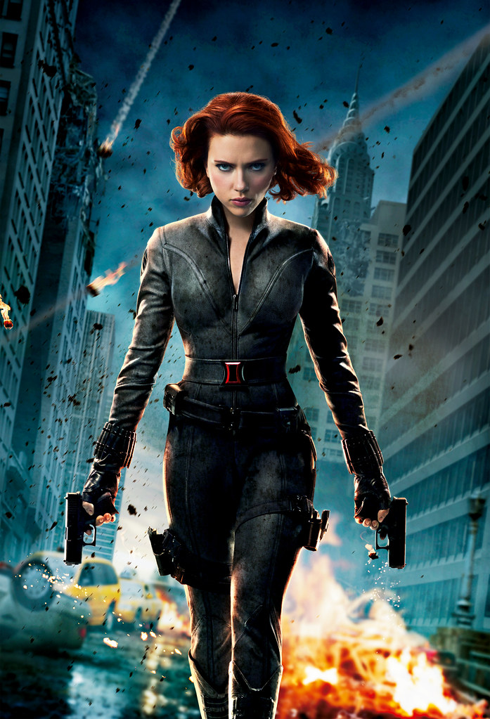 Avengers Black Widow Poster This Image Is Property Of The