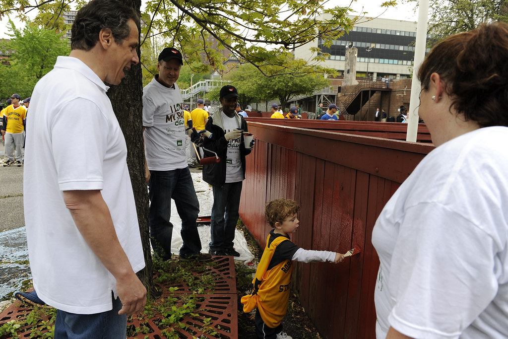 park,clean-up,volunteer | May 05, 2012- Bronx- Governor Cuom… | Flickr