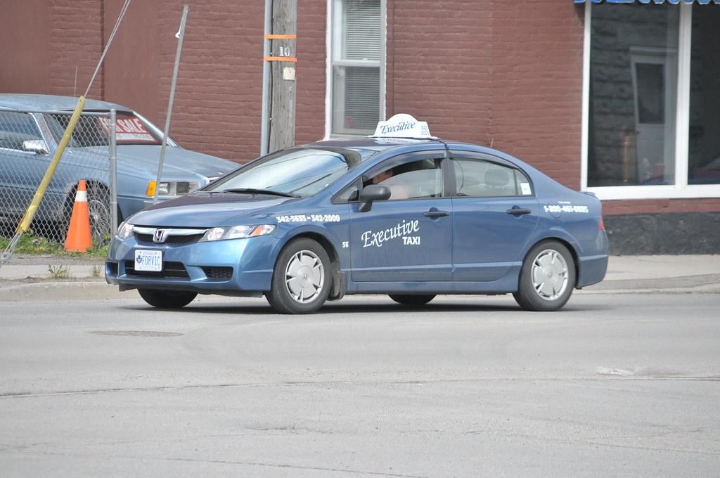 Executive Taxi 56 Honda Civic car Brockville, Ontario Cana ...