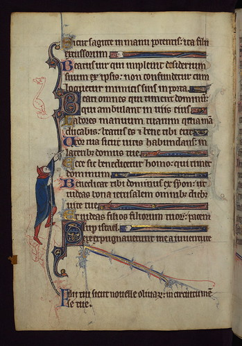 Book of Hours, A scribal error corrected, Walters Manuscript W.102, fol. 33v | by Walters Art Museum Illuminated Manuscripts