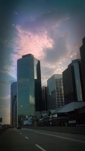 Downtown Sunset | by iakoubtchik