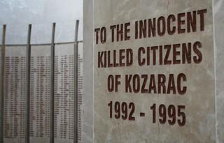 Kozarac Memorail   by The Advocacy Project