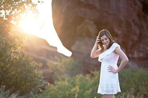 portrait sunrise redrocks