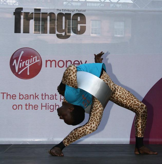 Edinburgh Fringe Festival 2012: Mother Africa Contortionist