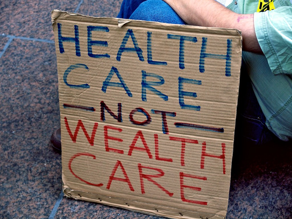 Health Care Not Wealth Care