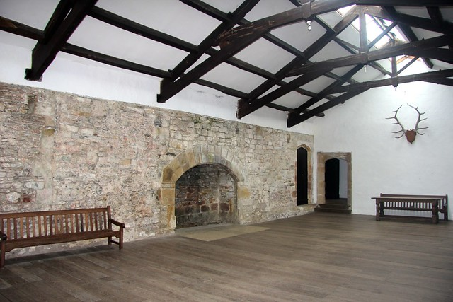 The Great Hall of Skipton Castle