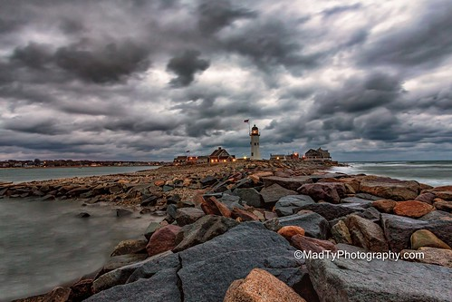 ocean morning lighthouse clouds canon lighthouses massachusetts ngc newengland wideangle scituate 6d scituatemassachusetts 1635 scituatelighthouse scituatelight newenglandlighthouses canoneos6d wideanglelandscape oldscituatelighthouse canonef1635f4lis