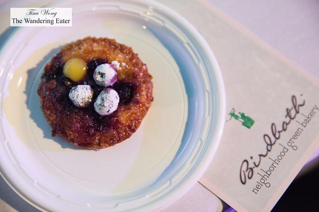 Blueberry pastry by Birdbath