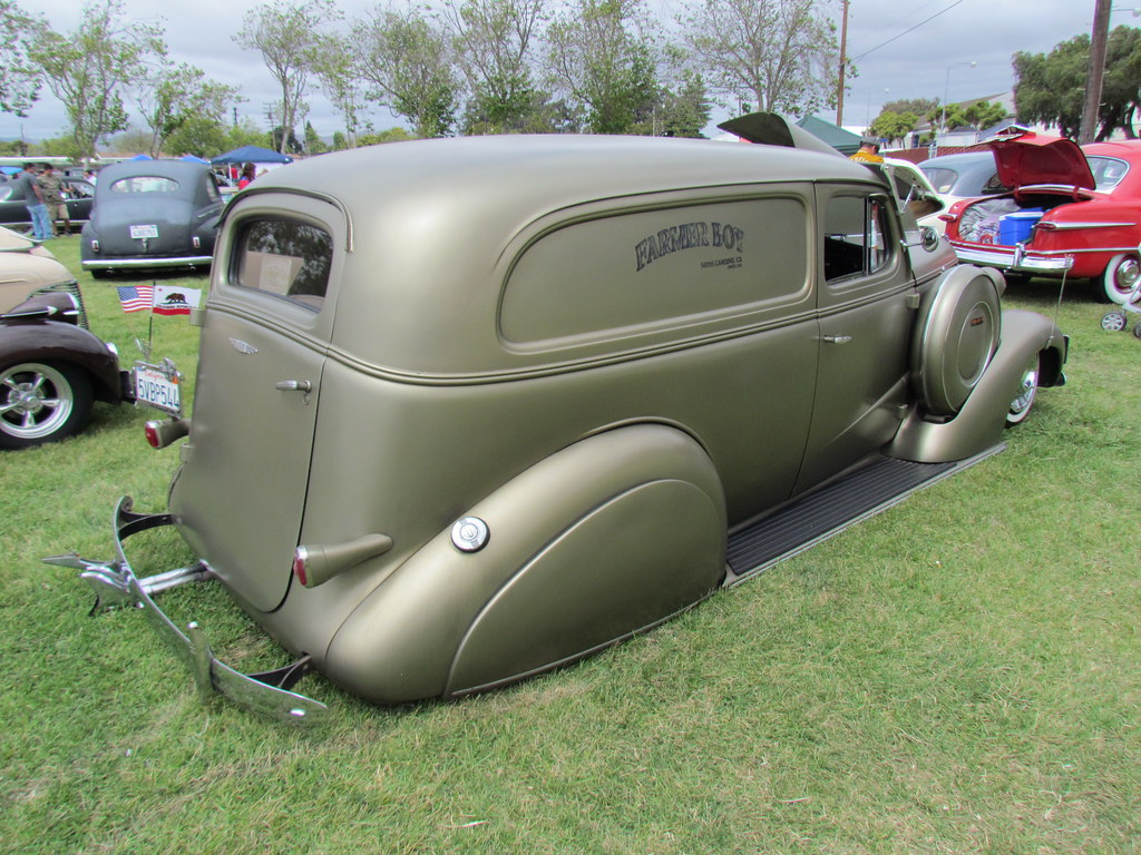 37 Chevy Sedan Delivery Bballchico Flickr