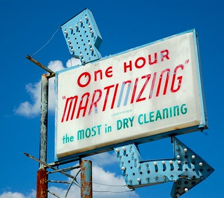 "One Hour ""Martinizing"" Certifies the MOST in DRY CLEANING 