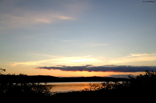 sunset sky canada landscape novascotia lakecharlotte